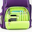 """Комплект. Рюкзак школьный Smart K19-702M-2 (фиолетовый) + пенал + сумка, ТМ """"Kite"""", фото 3"""