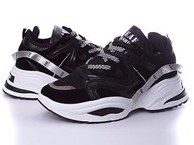 Кросівки Violeta чоловічі чорні, розміри в наявності ► [ 41, 43 ]