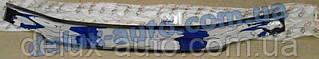 Мухобойка на капот Citroёn Jumper 2014 короткая Дефлектор капота на Ситроен Джампер 2014 короткий