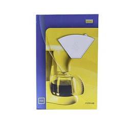Фильтр бумажный №4 Worwo для капельной кофеварки (100шт) FCF01AB