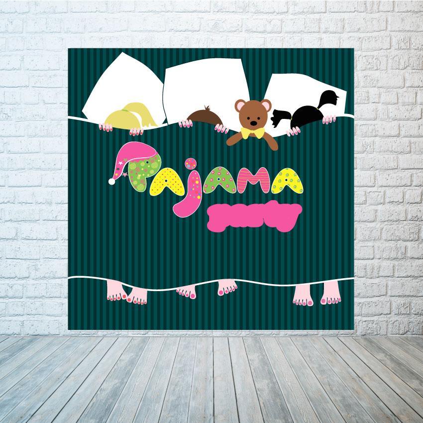 Баннер Пижама party
