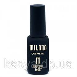 Топ без липкого слоя No Sticky Top Coat Milano, 12 мл