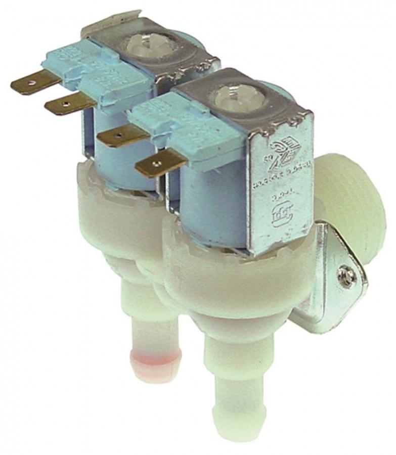 Клапан 23542 (0.5 и 0.8 литр в мин) двойной для льдогенератора Brema, Scotsman, Luxia, NTF (универсальный)