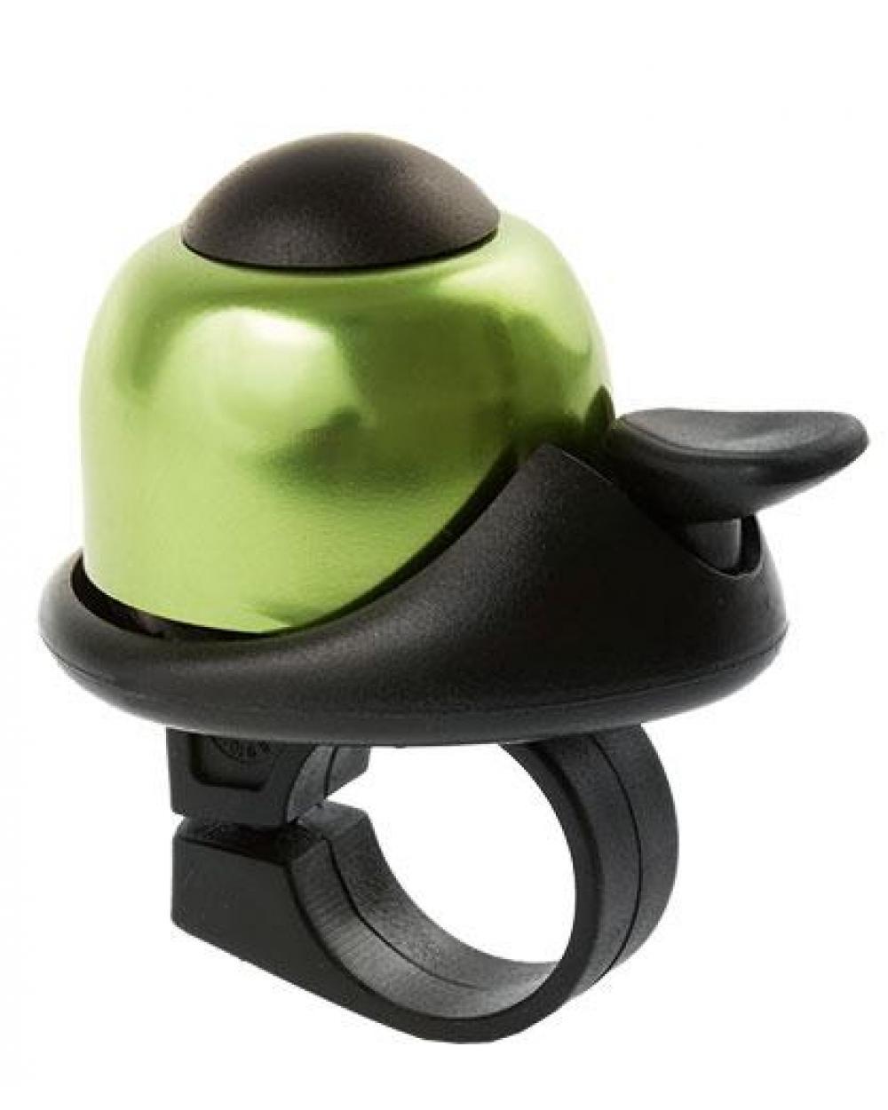 Звонок велосипедный M-Wave bella design зеленый (A-DKL-0078)