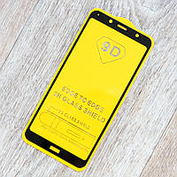Защитное стекло 2,5D Full Glue для Xiaomi Redmi 7A (черный) (клеится всей поверхностью)