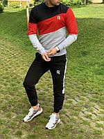 Модный мужской спортивный костюм (реплика) Reebok