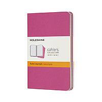 Блокнот Moleskine Cahier Кишеньковий 64 сторінки в Лінійку Кінетичний Рожевий (9х14 см) (8058647629643), фото 1