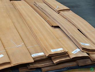 Шпон Макоре - 0,6 мм -  довжина від 1 до 2 м / ширина від 10 см+ (I гатунок)