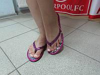 Женские вьетнамки Rip Curl 32 фиолетовые код 327А