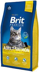 Корм Brit Premium Cat Adult Salmon с лососем для взрослых кошек