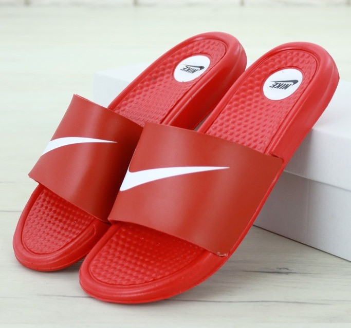 Мужские Шлепанцы Nike Benassi Jdi Print Red