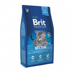 Сухой корм Brit Premium Cat Kitten для котят 1-12 мес