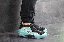 Мужские кроссовки Nike Air Foamposite Pro,черные с бирюзовым, фото 2