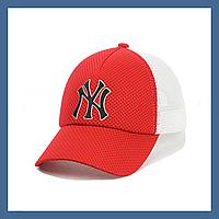 Кепка с сеткой и резиновым патчем New York, фото 1