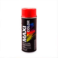 Аэрозольная краска Maxi Color RAL 3001 Ярко-красный 400 мл