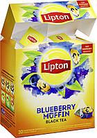 Чай Lipton Blueberry Muffin \ Черничный кекс (20 шт) черный