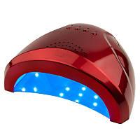 UV LED лампа SUN One 48 Вт, красная