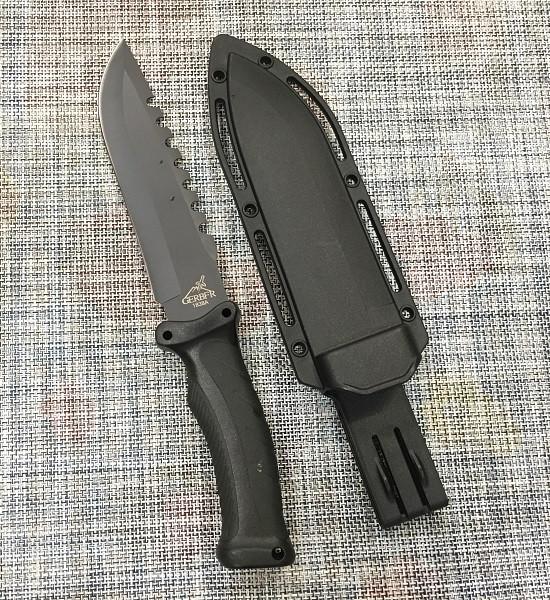 Нож с чехлом для охоты и рыбалки GERBFR 1868А (30,5см)