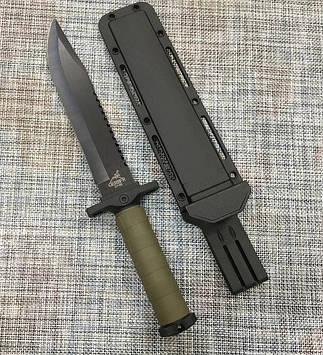 Нож с чехлом для охоты и рыбалки GERBFR 2318В (35см)