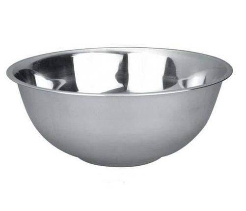Миска Empie нержавеющая круглая 20 см. 1,1 л. 2214, фото 2