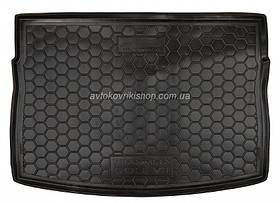Резиновый коврик багажника  Volkswagen Golf VII 2013- (хетчбэк) Avto-Gumm