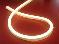 Светодиодный неон LED 220V IP68 Теплый белы
