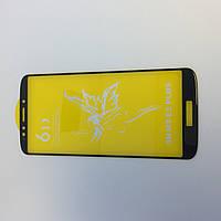 Защитное стекло Premium 6D для Motorola - black E5 PLUS