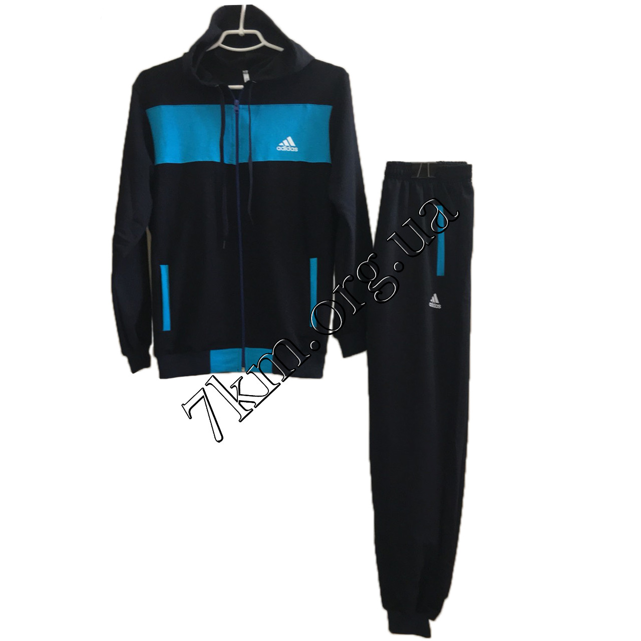 """Спортивный костюм подростковый реплика """"adidas"""" для мальчиков 10-16 лет Оптом 210711-3"""