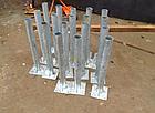 Закладные детали под кирпичные столбы, калитку и ворота, фото 2