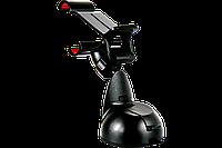 Подставка держатель телефона AW15-14, прищепка одинарная 115 мм, присоска малая