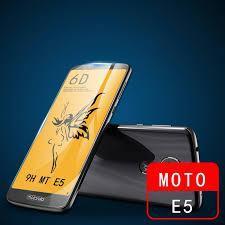 Защитное стекло Premium 6D для Motorola - white