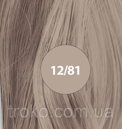 Wella Koleston Велла Колестон Perfect Стойкая крем-краска для волос 12/81