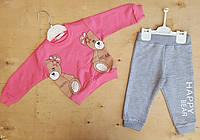 Костюмчик для девочки двухнитка 1-4 года