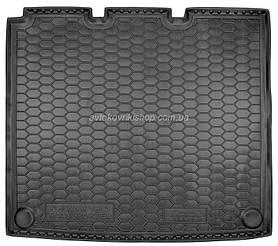 Резиновый коврик багажника  Volkswagen T5 Caravelle 2010- (длинный с печкой) Avto-Gumm