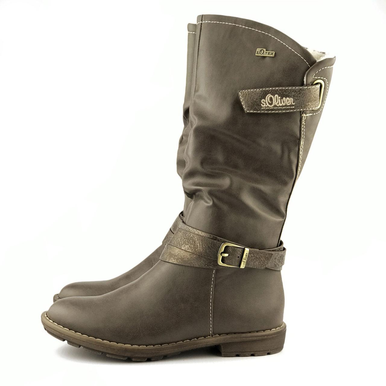 0e0f6f956b91 Утепленные сапожки S.Oliver (Германия) р 33. Интернет-магазин брендовой  обуви