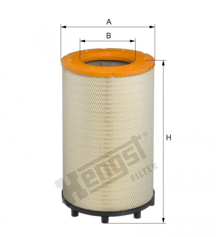 Вкладиш повітряного фільтра Hengst E1033L