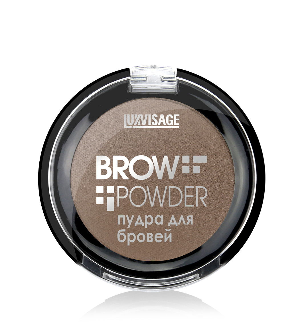 Пудра для бровей Luxvisage Brow powder тон Light Taupe