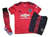 Футбольная форма Манчестер Юнайтед сезон 19/20 + Гетры Манчестер Юнайтед