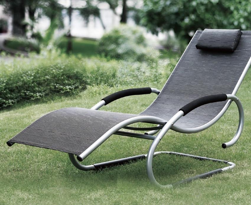 Кресло шезлонг алюминиевый