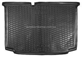Резиновый коврик багажника  Volkswagen Polo 2010- (хетчбэк) Avto-Gumm