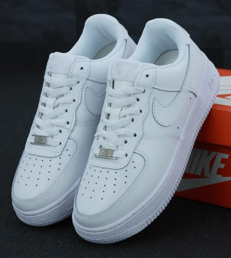 "Женские кроссовки Nike Air Force 1 Mid ""White"", nike air force high"