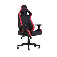 Крісло ігрове HEXTER PRO R4D TILT MB70 ECO/01 BLACK/RED (чорне/червоні вставки)