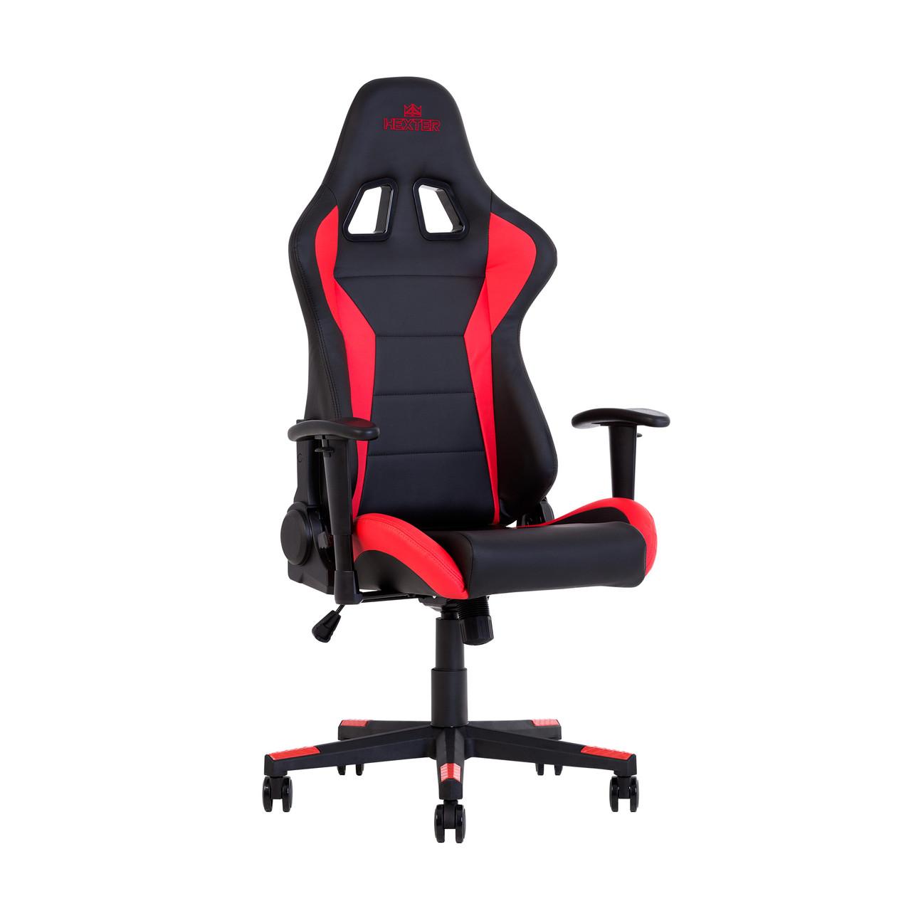 Кресло игровое Hexter ML R1D TILT PL70 ECO/01 BLACK/RED (черное/красные вставки)