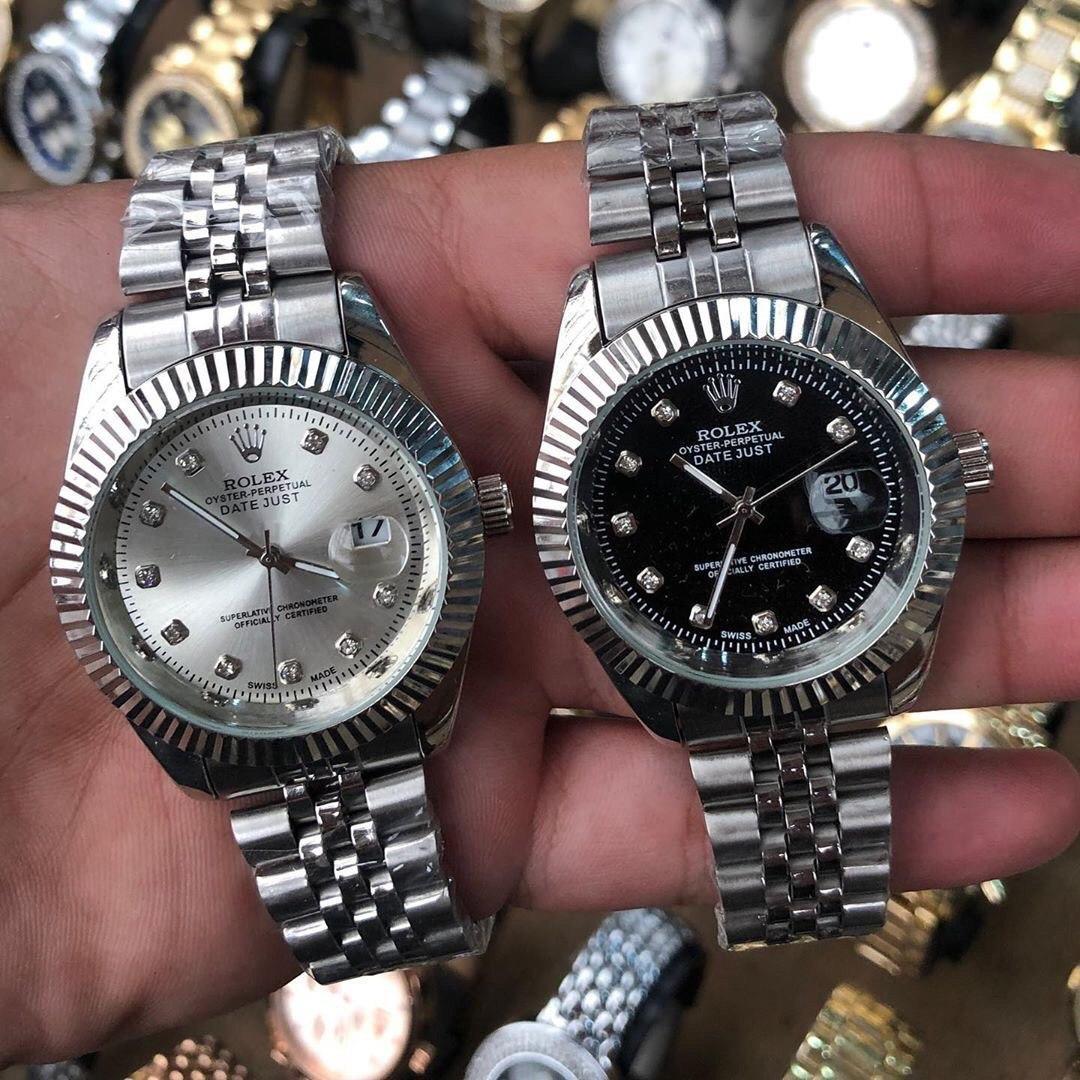Универсальные металлические часы Rolex