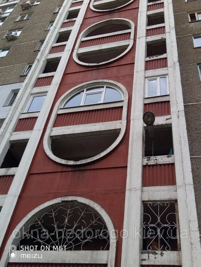 Арочные окна металлопластиковые в Киеве - бригада 2Т
