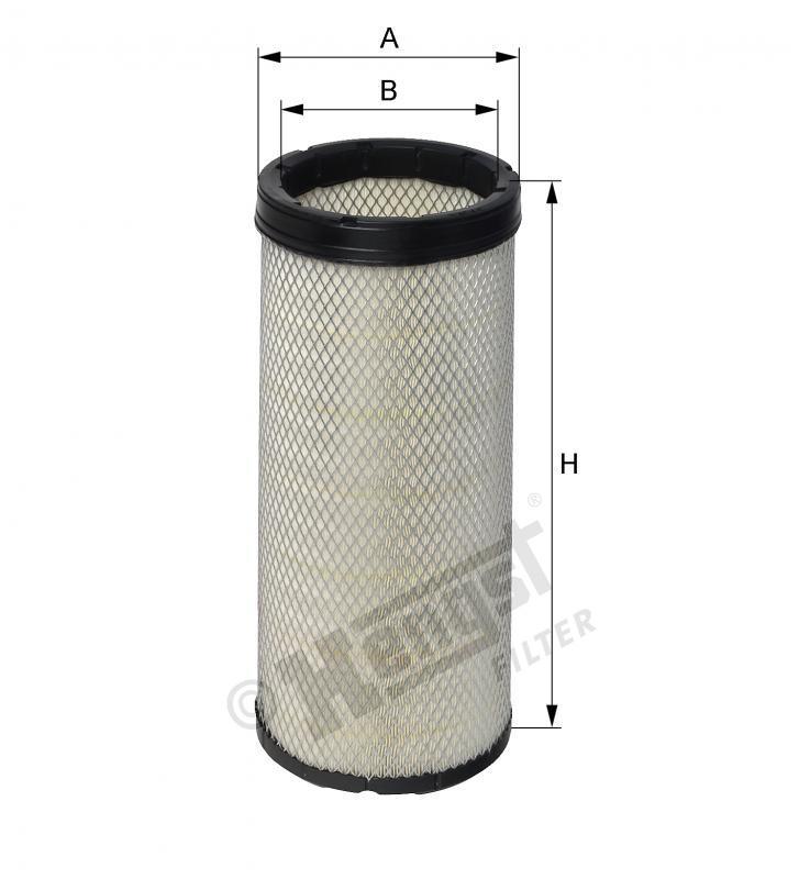 Вкладиш повітряного фільтра Hengst E452LS