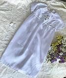 Эксклюзивное платье, платьице для крещения для девочки Hand Made, фото 2