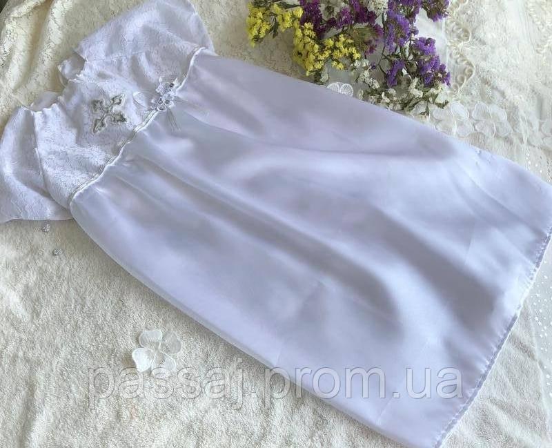 Эксклюзивное платье, платьице для крещения для девочки Hand Made