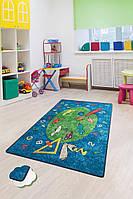 Коврик в детскую комнату, детский ковер 140*190 см, Краски