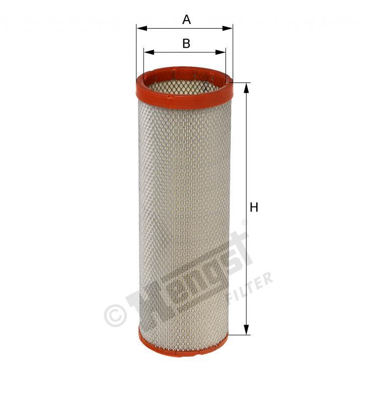 Вкладиш повітряного фільтра Hengst E454LS